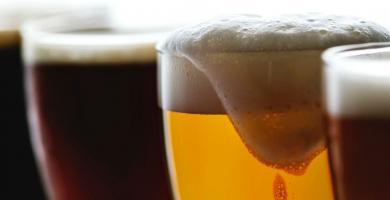 cerveza oscura vs cerveza clara
